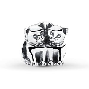 Pandora kittens charm purrfect together charm